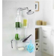 Bernie 3-Tier Shower Caddy Combination 2