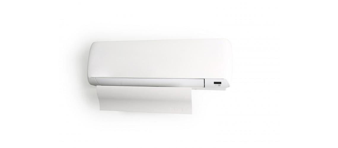 Air conditioner deflector